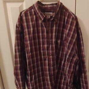Carhartt Mens Long Sleeve Button Down Shirt. 2XL